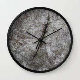 Wood Porn Wall Clock
