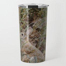 Spooked Desert Bunny Travel Mug