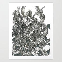 Inktober 2017: Miracle Elixir Art Print