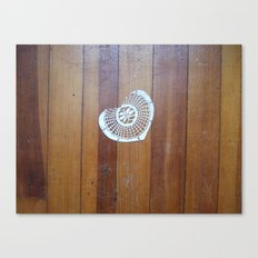 brokenheartsproject no. 1 Canvas Print