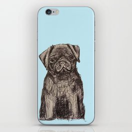 Louise adore les carlins iPhone Skin