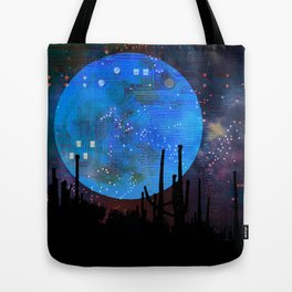 The Moon2 Tote Bag