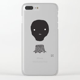 The Skull Tree Clear iPhone Case
