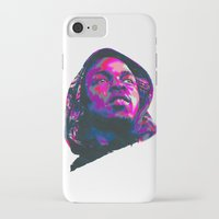 kendrick lamar iPhone & iPod Cases featuring KENDRICK LAMAR : NEXTGEN RAPPERS by mergedvisible