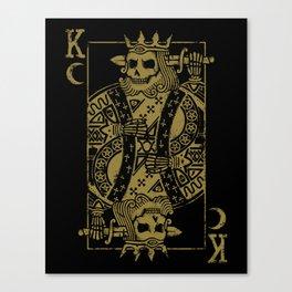 Suicide King Canvas Print