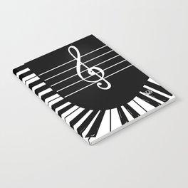 Piano Keys I Notebook