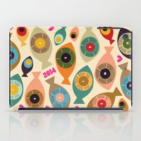 calendar iPad Cases featuring Calendar 2014 by beach please