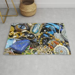 Jewelry Cluster 2 Rug