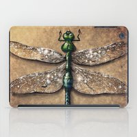 dragonfly iPad Cases featuring Dragonfly  by Werk of Art