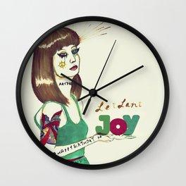 Leilani Joy Wall Clock