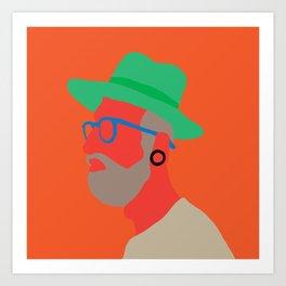 Hat deux  Art Print