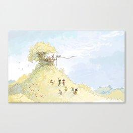 Pirate Tree House Canvas Print