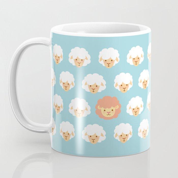 Lion and lambs Coffee Mug