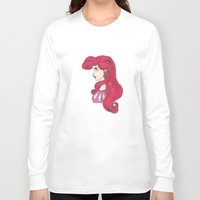 ariel Long Sleeve T-shirts featuring Ariel.  by Nic Moore