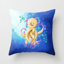 OCTOPUS MONSTER Throw Pillow