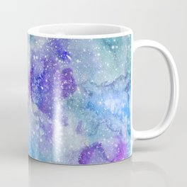 Spacehead - Watercolor Galaxy Painting Laced with Stars Coffee Mug