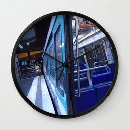 Paris urban metro Wall Clock