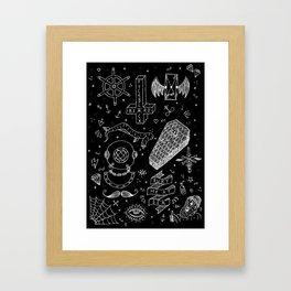 Bury Me At Sea. Framed Art Print