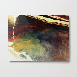 Fluid4 Metal Print