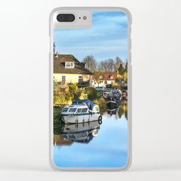 Towpath Into Hungerford Clear iPhone Case