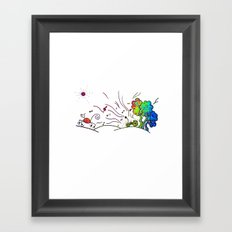 Sunny Scene Framed Art Print