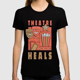 Theater heal spell T-shirt