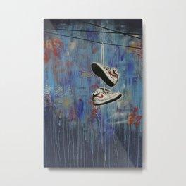 Nike Toss Metal Print