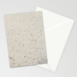 White Speckled Stone Stationery Cards
