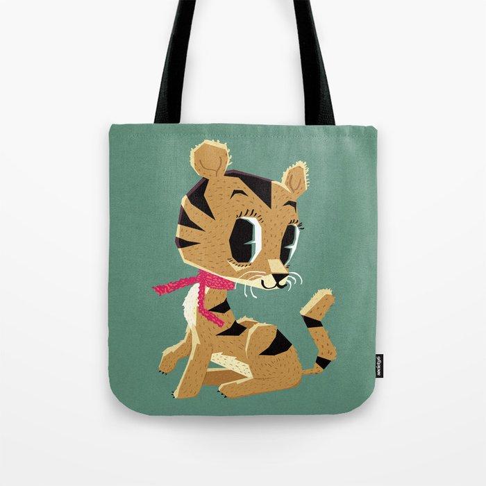 little tiger cub Tote Bag