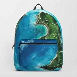 Water Island Map Backpack