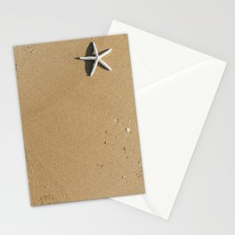 Sandy Summer Beach Stationery Cards
