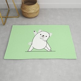 Yoga Dog IV Rug