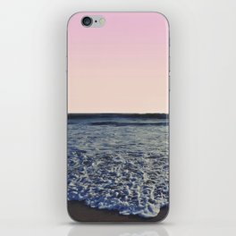 When The Waves Kiss The Shore iPhone Skin