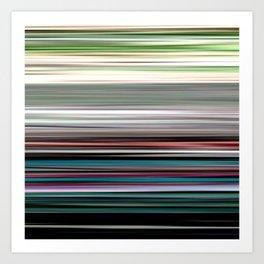 Seabreeze - Striped Art Print