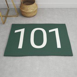 Squid Game, 101, Heo Sung-tae, Jang Deok-su Rug