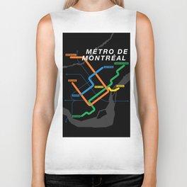 Montreal Metro Biker Tank