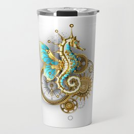Mechanical Seahorse Travel Mug