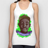 tyler the creator Tank Tops featuring Tyler The Creator II (Green) by ASHUR Collective™