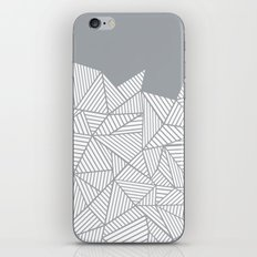 Abstract Mountain Grey iPhone Skin