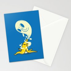 Banana Ghost Stationery Cards