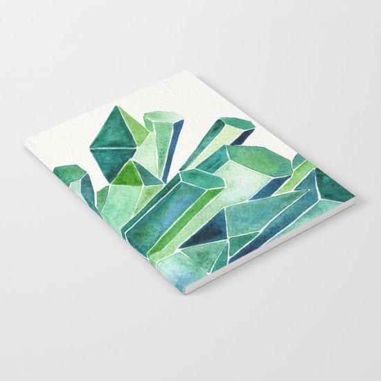 Emerald Watercolor Notebook