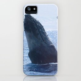 A Wave from a Whale iPhone Case