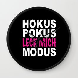 Hocus Pocus Women - Hocus Pocus Lick Me Mode Wall Clock