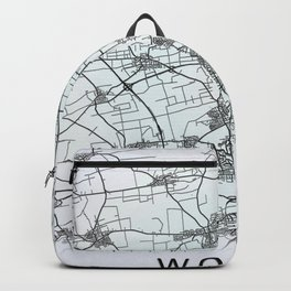 Worms, Germany, City Map Backpack