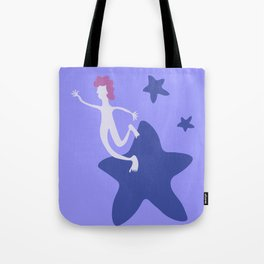Reach for the Stars - Blue Tote Bag