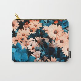Colourful Daisies Pattern Carry-All Pouch