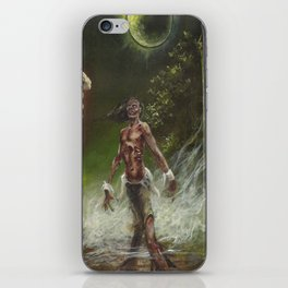 ZOMBIE MOON iPhone Skin