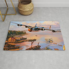 Consolidated B-24 Liberator Rug