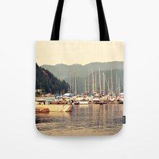 deep cove harbor Tote Bag