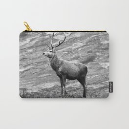 Stag b/w Carry-All Pouch